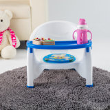 Multifunctional Baby Dinner Chair Plastic Feeding Chair with Front Cover