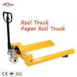 Paper Roll Pallet Truck Price Paper Cart Hand Pallet Truck Trolley Forklift Manual Hydraulic Pallet Truck Manufacturer