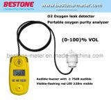 Portable 100% O2 Monitor, Oxygen Detector,Oxygen Leak Detector, Portable Oxygen Purity Analyzer, Gas Detector, Gas (O2) Meter,Air Oxygen Measurement Device Sao2