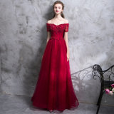 Wholesale in Stock Cheap Ladies Fashion Party Evening Dress