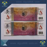 Hot Stamped Hologram Foil Anti-Counterfeiting Printing Concert Tickets