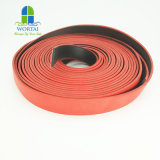 Smoke Fire Resistant Intumescent Expansion PVC Graphite Seal Rubber Gasket Strip for Doors Weather Strip