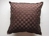Stripe Chocolate Hand Weaved DEC Pillow
