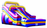 Durable PVC Inflatable Pool Slides for Inground Pools/ Inflatable Slide