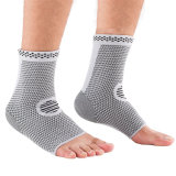 Custom Factory FDA Ce Bamboo Fiber Compression Support Foot Sleeves Ankle Brace