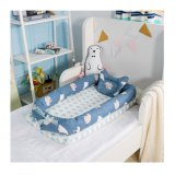 Infant Portable Travel Bed Side Sleeper Baby Cot with Pillow