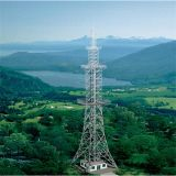 40m Steel Tubular Pole Top Build Tower Telecommunication Tower