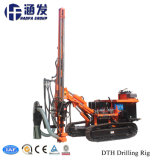 Competitve Price Chinese Supplier Hf115y Integrated Open-Air DTH Drill Rig