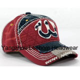 Embroidery Applique Golf Fashion Leisure Sport Cap