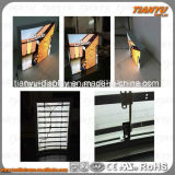 Fluid Edge Material Fabric Face LED Light Frame