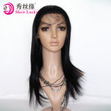 Wholesale Price Unprocessed European Human Hair Silk Straight High Quality Full Lace Front Wig