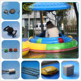 FRP Cool Outline Playground / Funfair Inflatable Adult Bumper Boat
