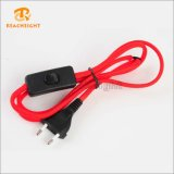 Ce VDE Plug Cord Set with Red Cable