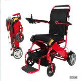 Fashionable Rehabilitation Equipment Aluminum Alloy Portable Foldable Electric Power Wheelchair China Factory Wholesale