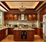 Luxury High Quality Wholesale Solid Wood Wholesale Wooden Kitchen Cabinets Wk-05