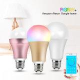 China E27 E26 E22 GU10 Bluetooth RGB LED Smart Bulb with WiFi