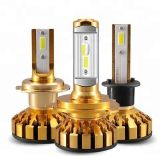 Mini Canbus H4 H7 Car LED Headlight Kit 50W 10000lm/Set H1 H11 9005 Hb3 9006 Hb4 H8 6000K Bulbs Car Accessories