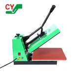 Ce Approved Cheap Digital Manual Flatbed Sublimation Printing Tshirt Heat Press Machine