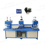 Automatic PVC Silicone TPR Rubber Embossing Logo Making Machine