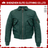 Wholesale Fashion Men Dark Green Bomber Winter Coat (ELTBJI-37)