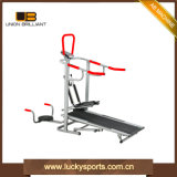 Home Multifunction 4 in 1 Jogger Flat Manual Treadmill