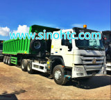 3 axle dump trailer/ Tipping trailer/ dump tipper trailer/ dumper tipper trailer