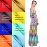 100% Silk Crepe De Chine 14mm 114cm Width Plain Dyed Fabric for Ladies Dress