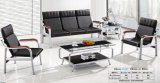 Hot Sale Leather Office Sofa Public Waiting Sofa 1+1+3 in Stock 2318#