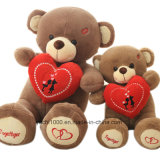 Promotion Gift Valentine′s Teddy Bear with Heart