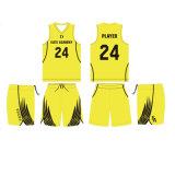 Custom Design Wholesale Sleeveless Basketball Uniform