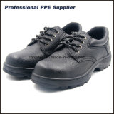 Rubber Outsole Split Leather Cheap Steel Toe Protective Shoes