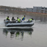 Liya Hypalon Inflatable Rubber Boat with Outboard Motor