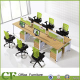 CF Movable Cabinet /Office Workstation Desk for Six Seaters