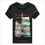 Custom Cotton Printed T-Shirt for Men (M346)