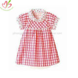 Stylish Baby Girl Floral Gingham Skirt Summer