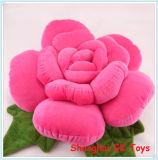 Red Flower Cushion Plush Cushions Decoration Valentine Gift