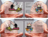 Transparent PVC VIP Busnisee Card