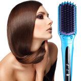 Fast Heating Easy Use Anion Spray Hair Straightener Brush