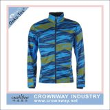Men Sport Sublimation Printing Knit Running Jacket