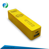 3000mAh Power Bank for Mobile Phone in Gold with Ce/RoHS