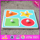 2016 Custom DIY Wooden Matching Puzzle for Babies W14m114