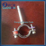Stainless Steel Pipe Clamp Support with Holder
