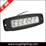6 Inch 18W Oval Slim CREE LED Work Light Bar for Offroad Trucks