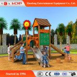 2017 Outdoor Playground Slide Equipment Amusement Park Wooden Series (HD-MZ053)