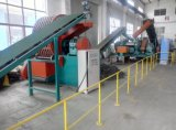 Scrap Tire Cutting Block Machine/Rubber Truck Tire Crushing Plant/Used Tyre Recycle Line