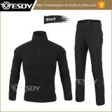 Black Manufacturer Wholesale Hunting Training Suit for Outdoor Sports