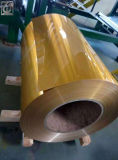 Aluminum Coated Coils 1145 Alloy Golden Color