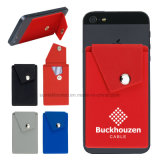 Silicone Phone Pocket Wallet with Stand Card Holder