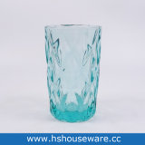 Aqua Green Colored Glass Highball