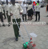 Hand Pushing Walking Manual Corn Seeder/Planter for Beans/Maize